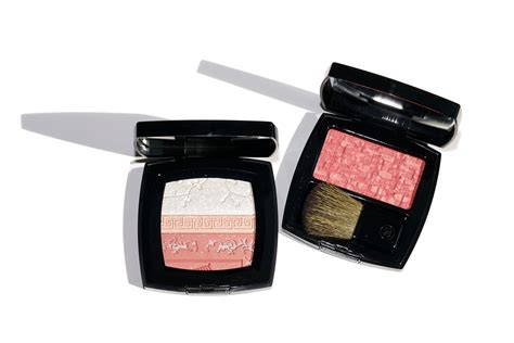 Chanel Premiere Fleurs Harmony Of Powder the look book