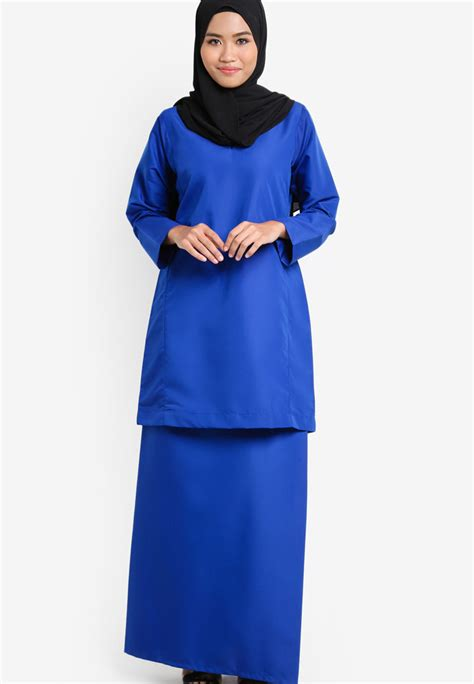 royal blue baju raya 2015 royal blue baju raya 2015 baju kurung royal blue baju