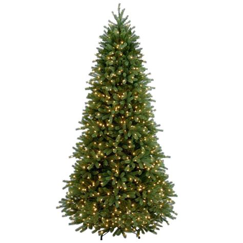 Feel Real national tree company 7 1 2 ft feel real jersey fraser slim fir hinged artificial