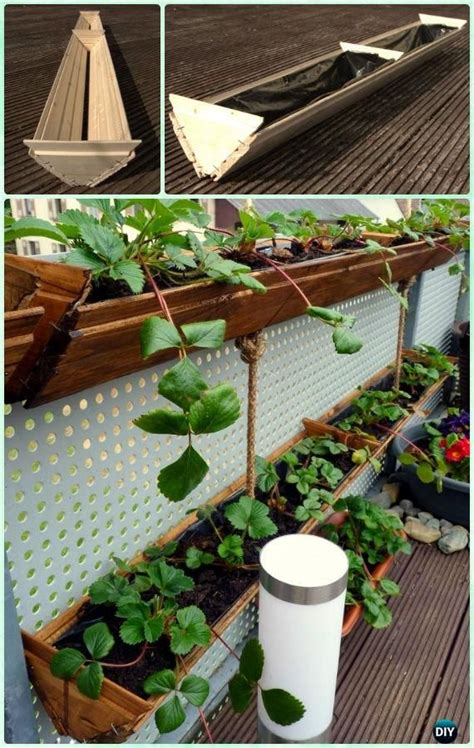 Hanging Strawberry Planter Diy by 1000 Images About Garden And Outdoor On
