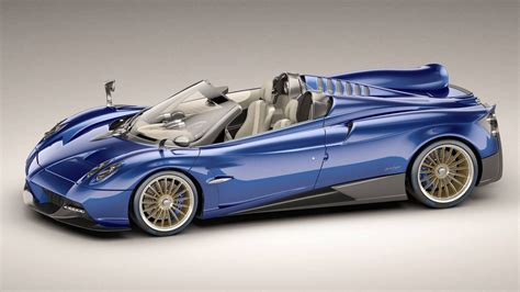 New Pagani Huayra Roadster Unveiled Ahead Of Geneva Debut