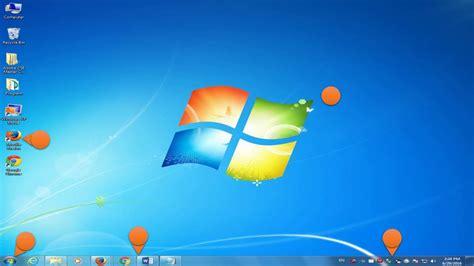 part desk parts of windows 7 desktop