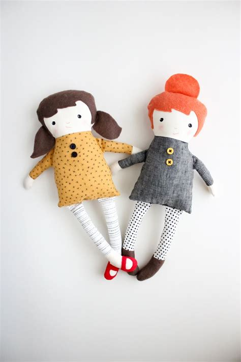 pattern fabric doll best 25 handmade dolls patterns ideas on pinterest diy