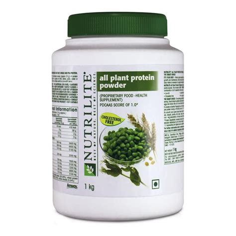 Nutrilite All Plant Protein Powder Amway Nutrilite All Plant Protein Powder 1kg With Free