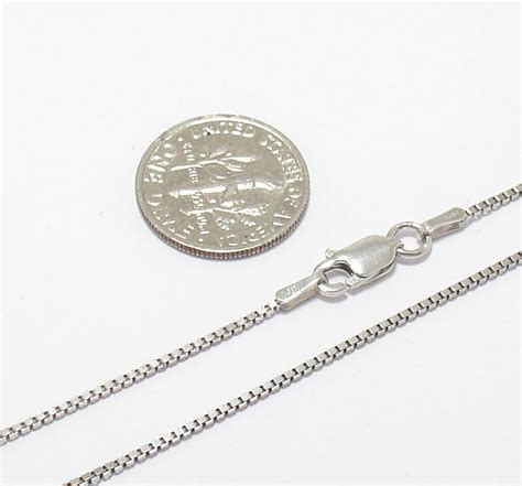 how to make jewelry not tarnish 1mm anti tarnish solid italian box chain necklace real