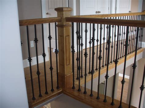 new banister and spindles knuckle metal balusters scotia stairs ltd