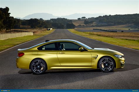 bmw m4 ausmotive com 187 2014 bmw m3 sedan and m4 coupe revealed