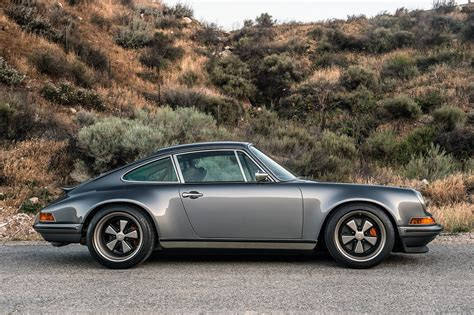singer porsche a lovely pair of porsche 911s by singer showed up at