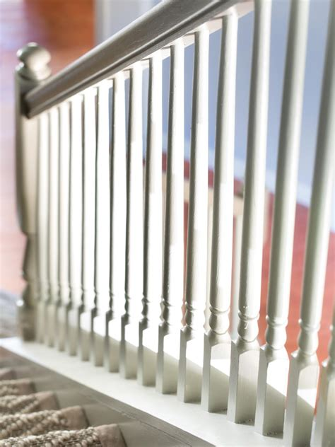 painting banisters affordable ways to update an entryway home remodeling