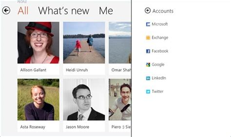 App To Find Peoples Address Microsoft Details The App Its Cloud Connected Address Book For Windows 8