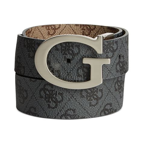 Guess Where This Belt Is From Go On Guess by Guess 35mm Reversible Logo Buckle Belt In Black For Lyst