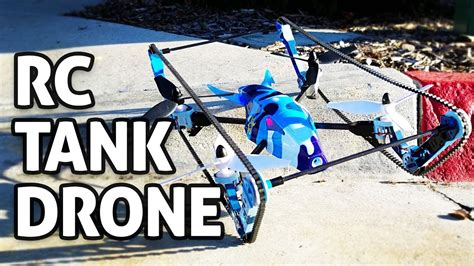 Drone Flying Tank rc tank drone review wltoys 2 in 1 w fpv built in