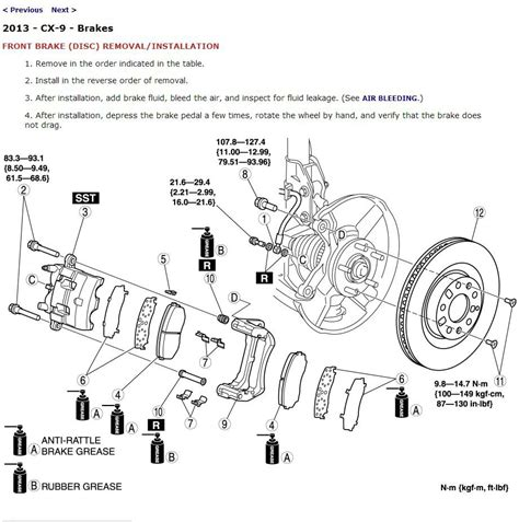 2013 Mazda Cx 9 Service Manual Cd Rom Workshop Repair 3 7l