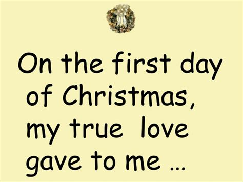 my true love gave 1250059313 the twelve days of christmas audio