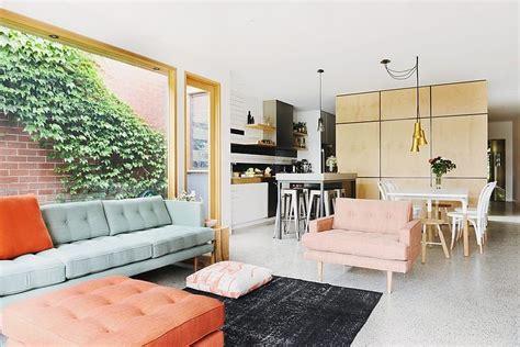 desain interior salon kecil rumah kecil dengan interior modern cozy desain interior