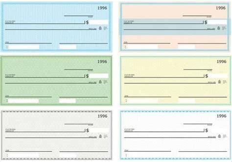 free printable checks template template idea
