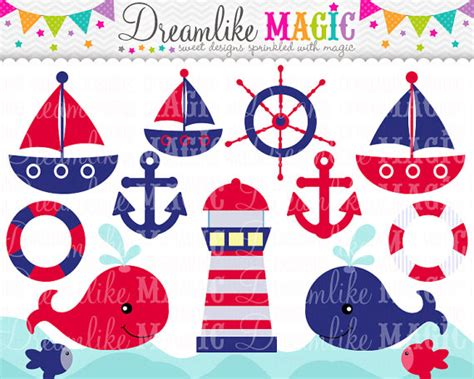 boat themed clipart clipart nautical theme for kids