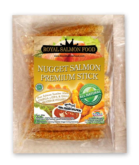 Nugget Salmon Premium Sayur kedai bunanif