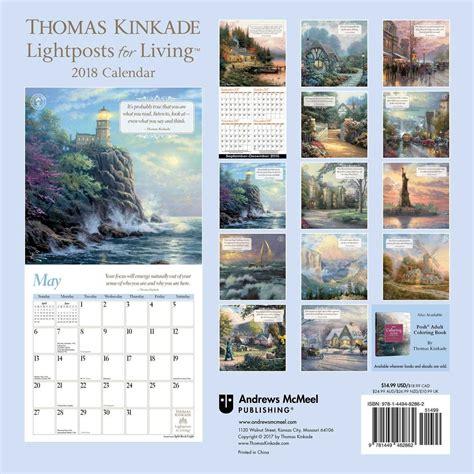 1449492630 thomas kinkade lightposts for living thomas kinkade lightposts for living calendars 2018 on