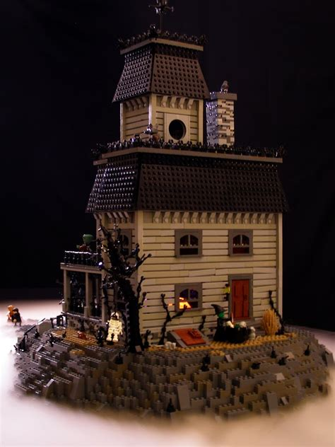 lego haunted house super punch lego haunted house