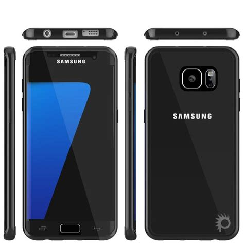 Samsung Hdc S8 Ultimate Black s7 edge punkcase cloak black series for samsung galaxy s7 edge