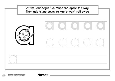 Letterland Worksheets by Early Years Handwriting Copymasters Letterland Uk