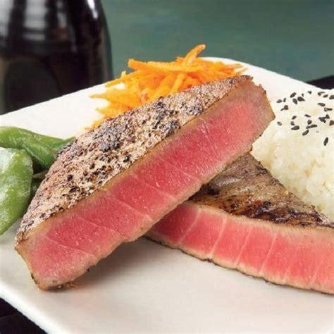 The Best Way To Cook Tuna by Best 25 Baked Tuna Steaks Ideas On Tuna Steak
