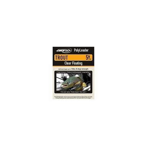 best fast sinking fly line airflo trout 10ft polyleader fast sinking