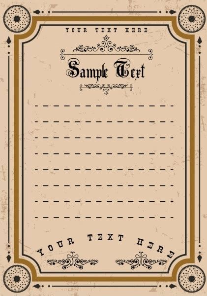 border templates for adobe illustrator document border template arrows circles decoration