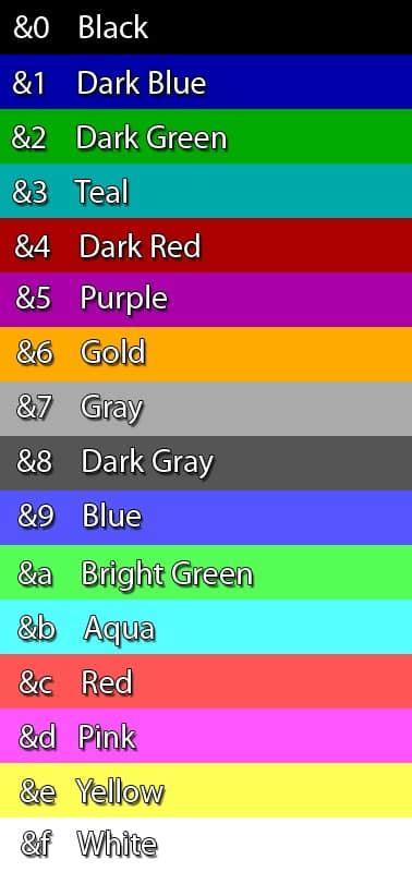 minecraft chat colors como tener el chat de color minecraft pe 0 11 0