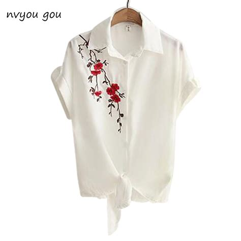 Express Embroidery Top 1 2017 top summer casual tops sleeve embroidery white top blouses shirts kimono