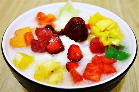 resep membuat es buah istimewa kintakun resep praktis es buah segar