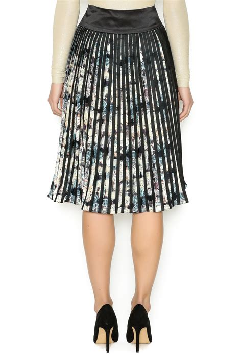 sharronne pleated pastel skirt from new jersey by pink