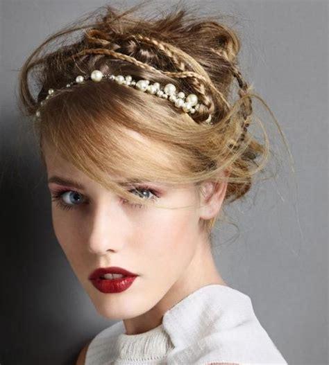 updo hairstyles headband trendy updo hairstyles winter hair ideas trendsurvivor