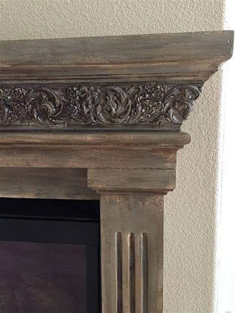 chalk paint mantle the 25 best painted mantle ideas on fireplace