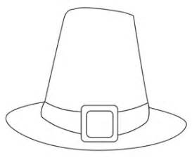 pilgrim hat template printable mondays coloring pages in peace