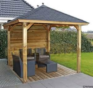 Log Cabin Open Floor Plans Lugarde Wooden Gazebo 2 4 X 2 4m Hortons Portable
