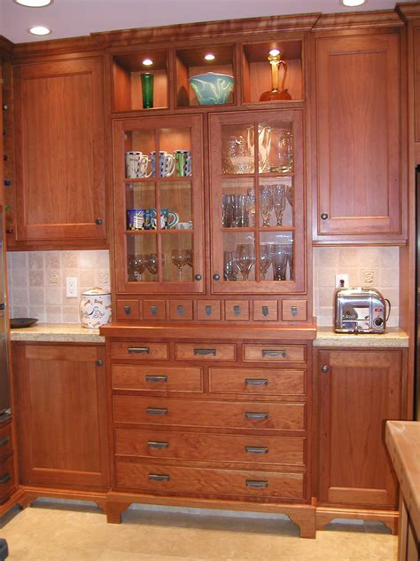 Built In China Cabinet by Built In China Cabinet Craftsman House