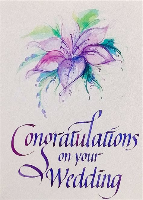 Wedding Congratulations On Your by Congratulations On Your Wedding 11 1cm X 15cm