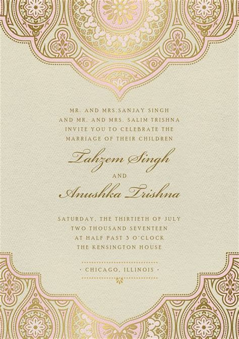 indian wedding invitations new zealand best 25 indian wedding cards ideas on indian wedding invitation cards indian