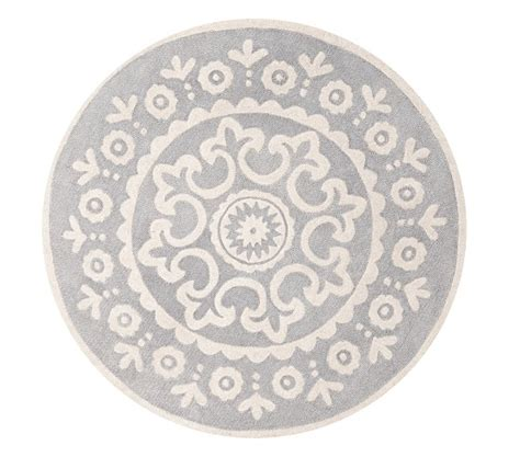 rounds rugs mckenna rug pottery barn