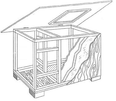 heated dog house plans dog house plans for our not so miniature st bernard garage outside makeover