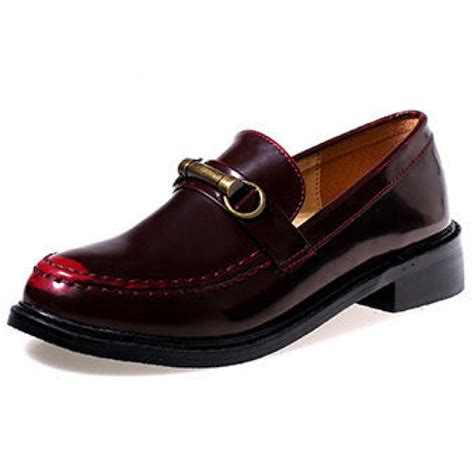 Buckle Loafers classic oxblood buckle loafers