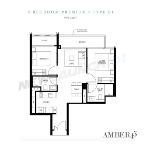 one amber floor plan amber 45 condo by uol group newlaunch101