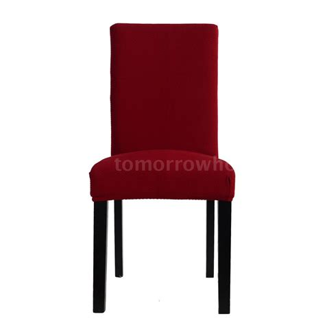 red dining room chair covers high quality soft polyester spandex dining room chair
