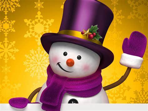 aesthetic cute snowman christmas hd computer wallpaper  preview wallpapercom