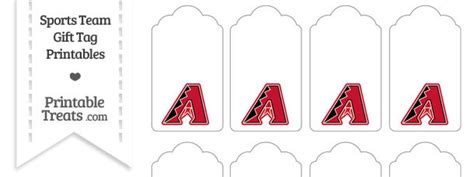 Diamondbacks Gift Cards - diamondbacks printable treats com