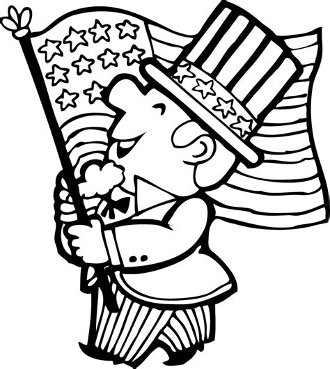 american flag and eagle fourth of july coloring page for 4th of july coloring pages bald eagle and us flag