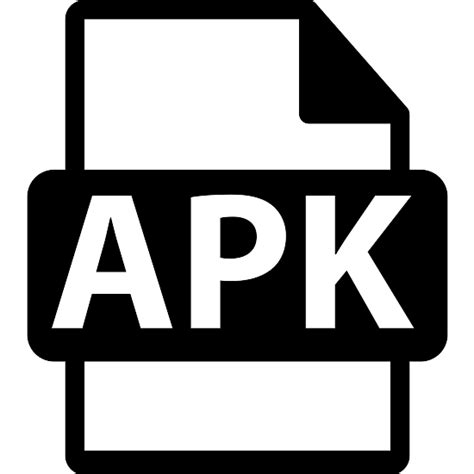 what is a apk apk file format symbol free interface icons