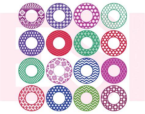 svg pattern circle 100 circle monogram frame bundle svg png dxf eps